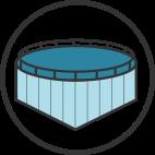 icon simple cage farm