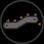 icon simple mass handling